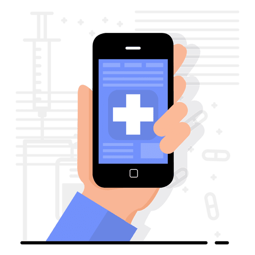 Health app design Transparent PNG