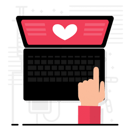 Diseño de aplicación de corazón