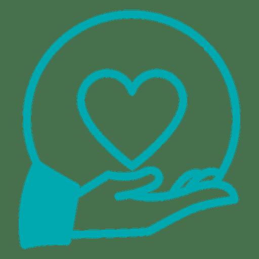 Ícone de cuidados de lareira Transparent PNG