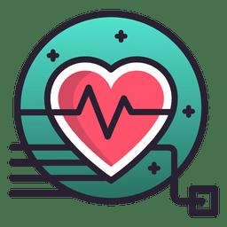 Herzfrequenzsymbol