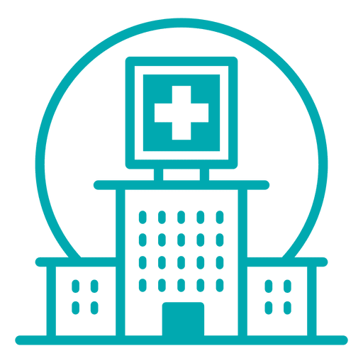 Hospital stroke icon Transparent PNG