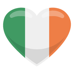 India heart flag