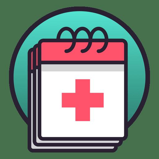 Calendário médico Transparent PNG