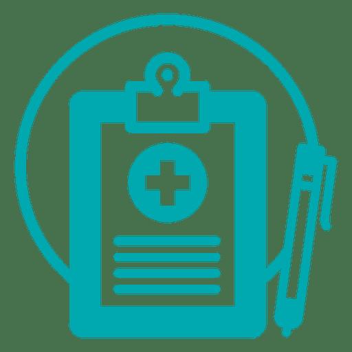 Icono de registro médico - Descargar PNG/SVG transparente
