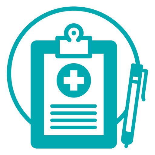 Medical record icon Transparent PNG