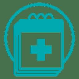 Ícone do cronograma médico