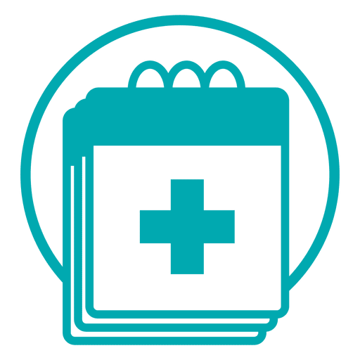 Medical schedule icon Transparent PNG