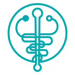Signo de símbolo de medicina