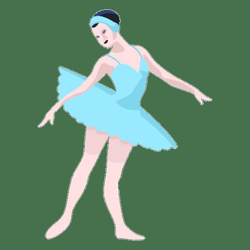 Ilustración de bailarina de ballet de Rusia Transparent PNG