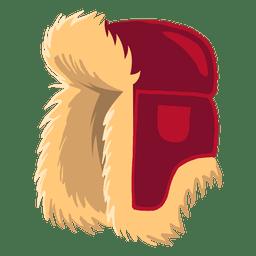 Ilustração de chapéu de Rússia
