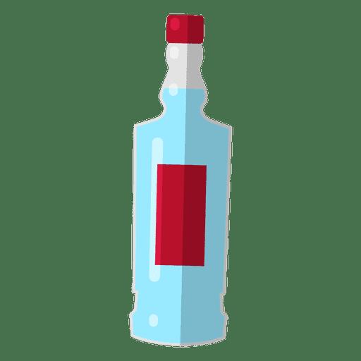 Ilustración de vodka de Rusia