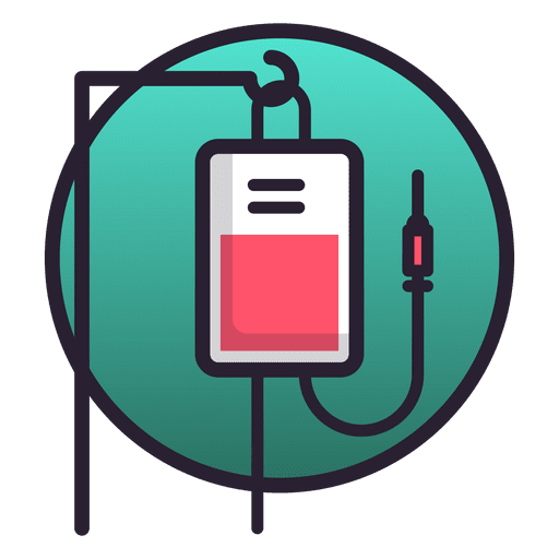 Serum bag icon Transparent PNG