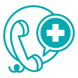 Linea telefonica medica
