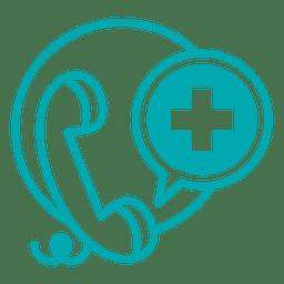 Linha telefônica médica