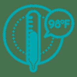 Icono de temperatura
