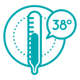 Temperature icon celcius