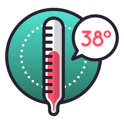 Temperatursymbol Feber