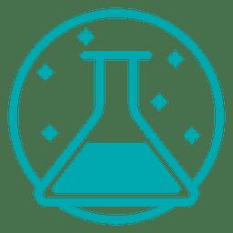 Icono de tubo de ensayo