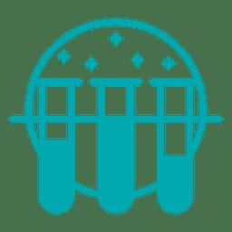 Reagenzgläser-Symbol