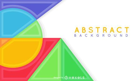 Abstract background with dynamic lines