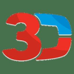 Logo 3d animacion alfabetica