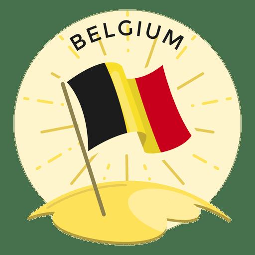 Belgium flag Transparent PNG