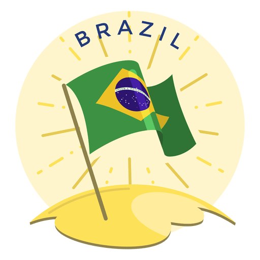 Brazil flag Transparent PNG