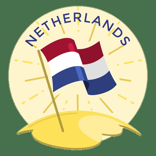 Bandera holandesa Transparent PNG