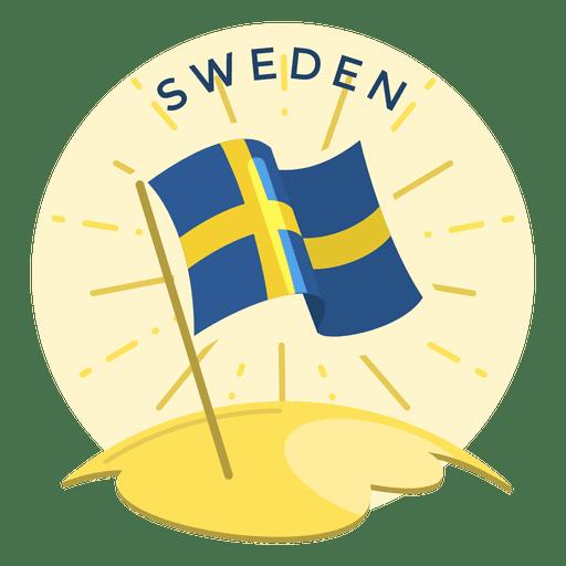 Sweden flag Transparent PNG