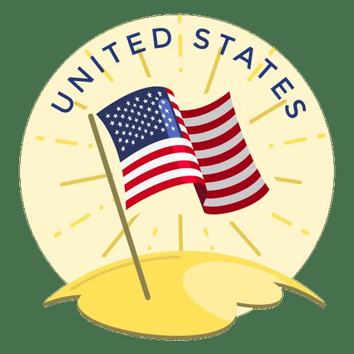 United states flag Transparent PNG