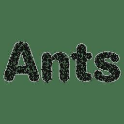 Logotipo de formigas sem fins lucrativos