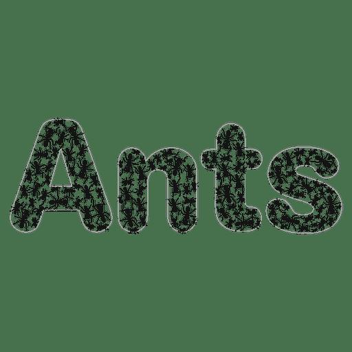 Ants non profit logo Transparent PNG