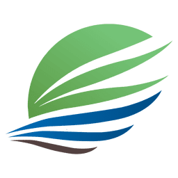 Logotipo da viagem da ala da seta