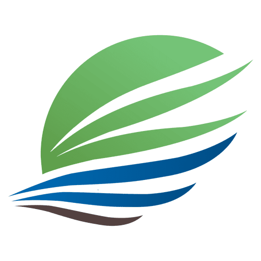 Arrow wing travel logo Transparent PNG