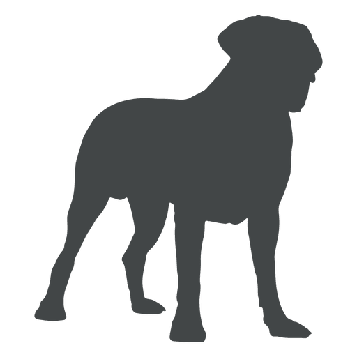 classic dog silhouette transparent png svg vector