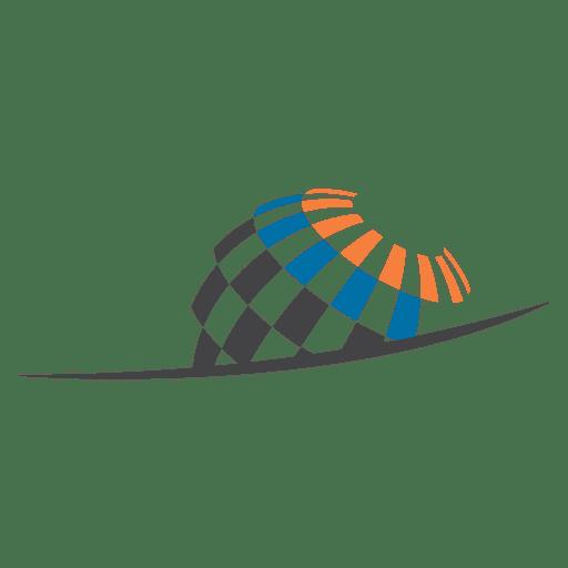 Geoscience globe icon