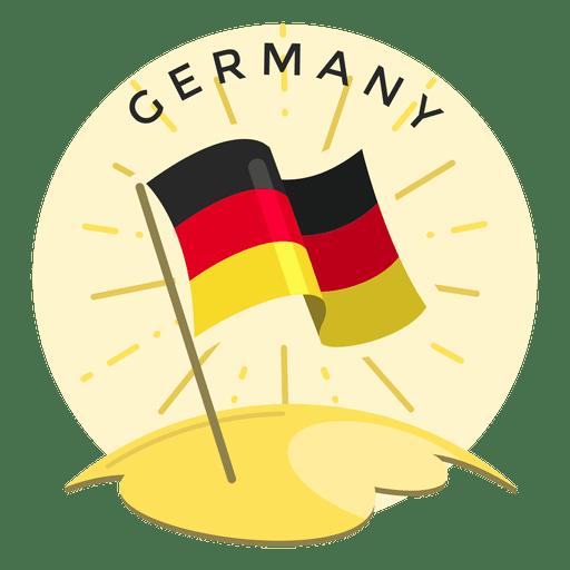 Bandera de alemania Transparent PNG