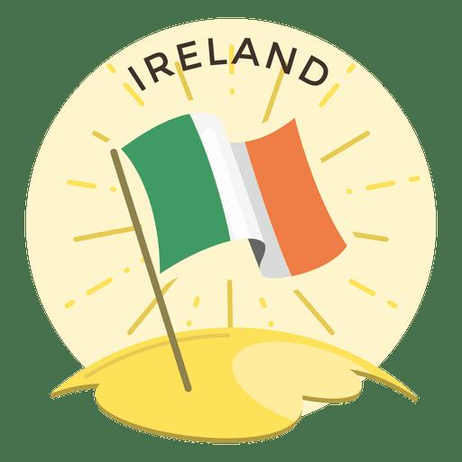 Ireland flag Transparent PNG