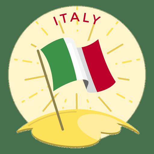 Bandeira da itália Transparent PNG