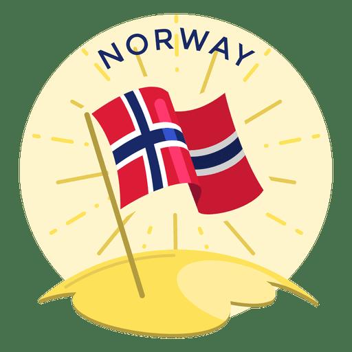 Bandeira da Noruega Transparent PNG