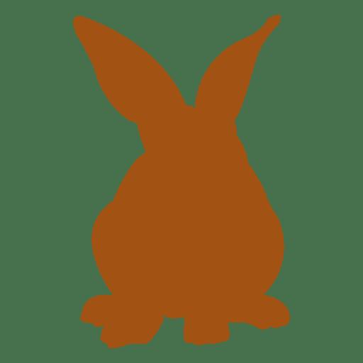 Rabbit bunny silhouette