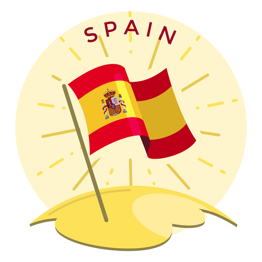 Spain flag Transparent PNG