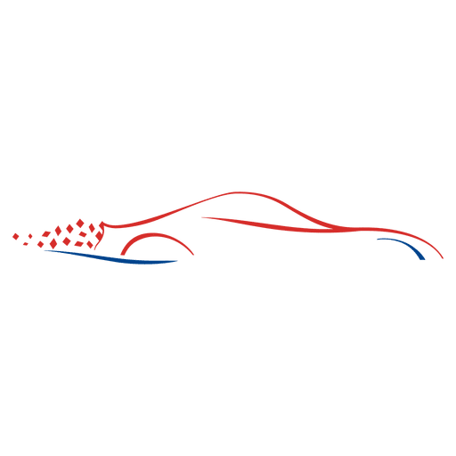 Speed car lines logo