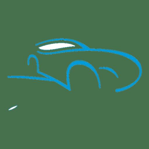 Speed car logo