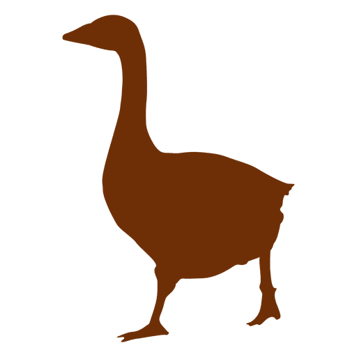 Swan silhouette Transparent PNG