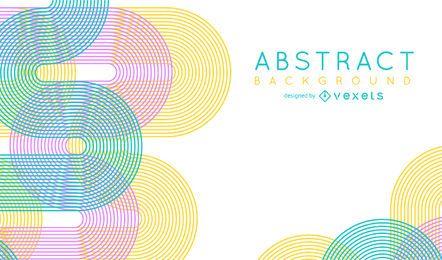 Fondo abstracto brillante y colorido