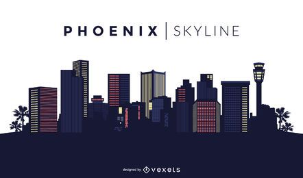 Design do horizonte de Phoenix