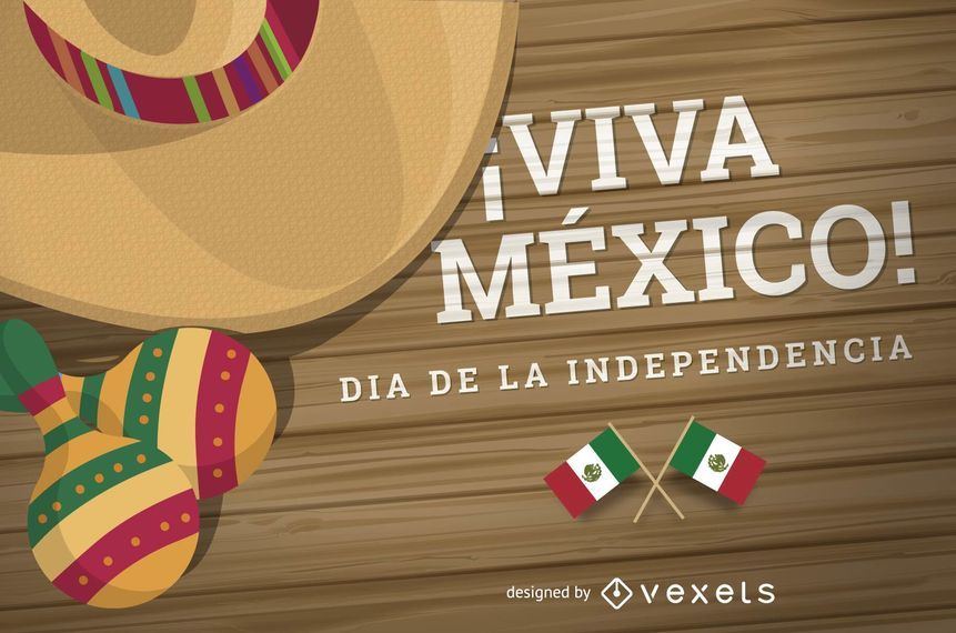 Dia de la Independencia Mexico design