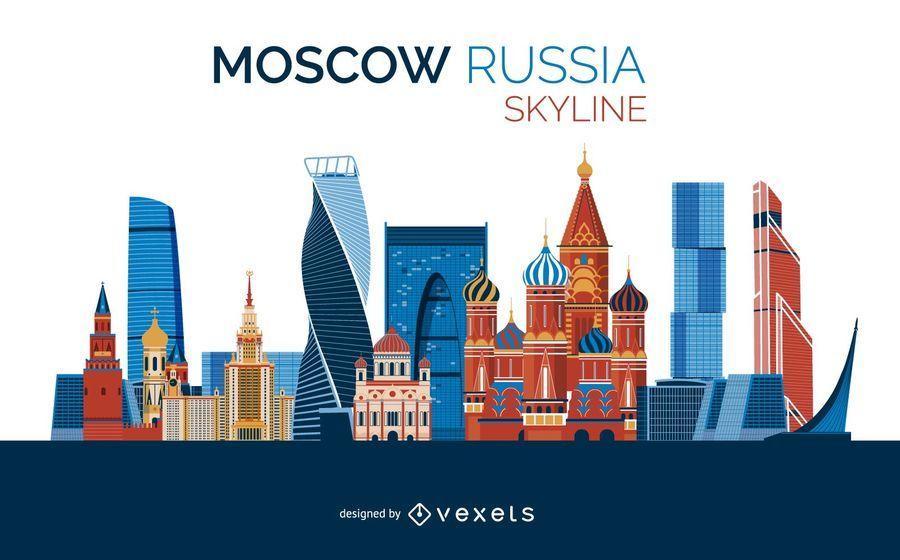 Diseño del horizonte de Moscú