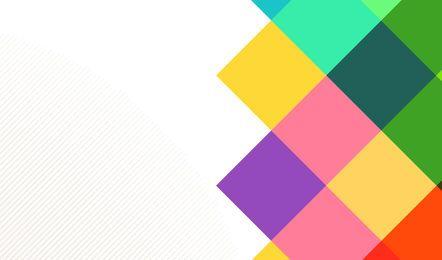 Abstrakter Hintergrund mit bunten Quadraten und Linien
